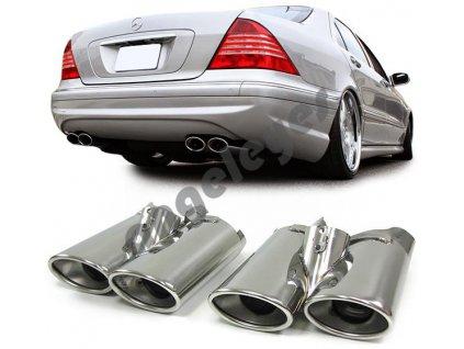 Koncovky výfuku Mercedes S W220