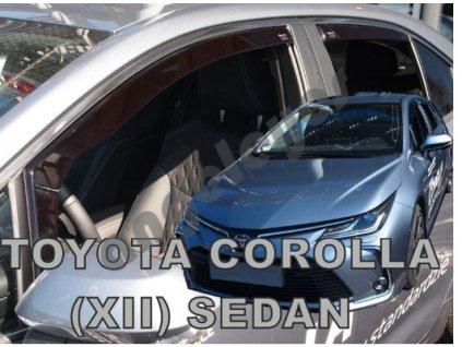 Deflektory na okná pre Toyota Corolla 4ks, od rv. 2018-