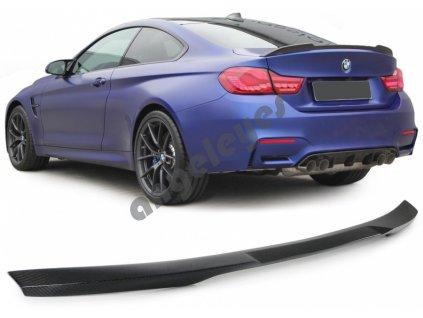 BMW 4 F32 zadný spojler carbónový