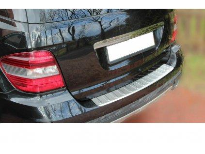 Nerezová ochranná lišta na nárazník matná Mercedes ML W164...