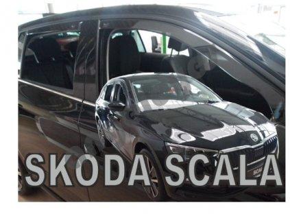 Deflektory na okná pre Škoda Scala