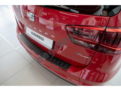 Čierna ochranná lišta na nárazník VW Sharan 2, Alhambra 2