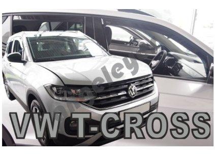 Deflektory na okná pre VW T-Cross  2ks
