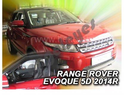 Deflektory na okná pre Land Rover Range Rover Evoque  4ks