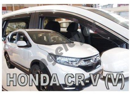 Deflektory na okná pre Honda CRV 5 od rv. 2018-, 4ks