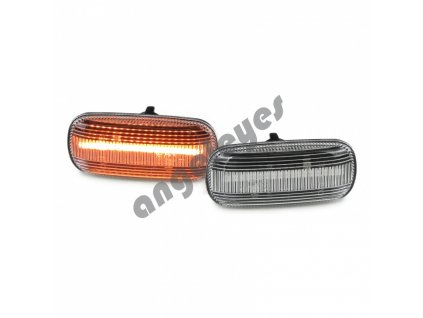 Bočné dynamické LED smerovky pre Audi