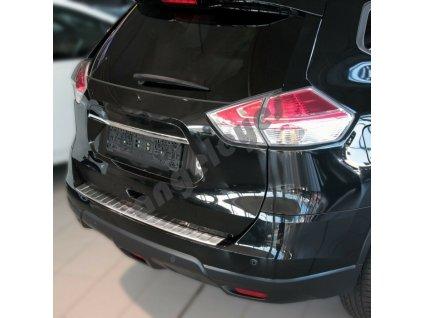 Nerezová lesklá ochranná lišta na nárazník Nissan X-Trail T32