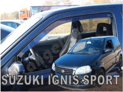 Deflektory na okná pre Suzuki Ignis Sport 3d