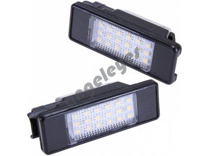 LED osvetlenie ŠPZ Nissan