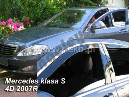 Deflektory na okná pre Mercedes S W221, 2ks
