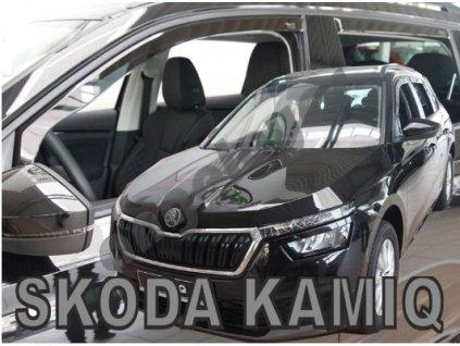 Deflektory na okná Škoda Kamiq