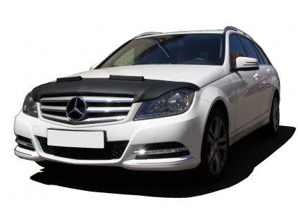 kožený kryt kapoty Mercedes C W204  facelift