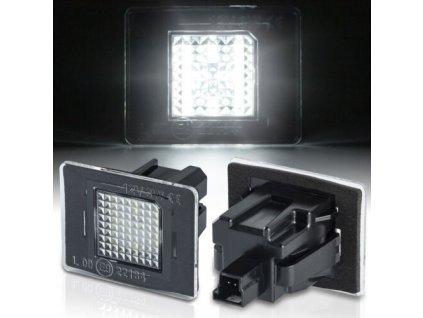 LED osvetlenie ŠPZ pre Mercedes ML W166, GLA X156, A W176,SLK...