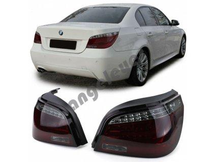 BMW 5 E60 zadné svetlá s LED smerovkou
