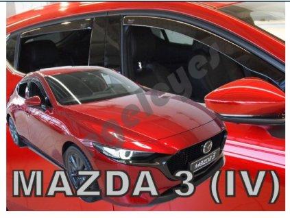 Deflektory na okná pre Mazda 3 IV hatchback