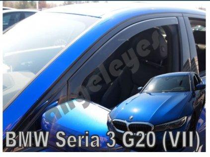 Deflektory na okná pre BMW 3 G20