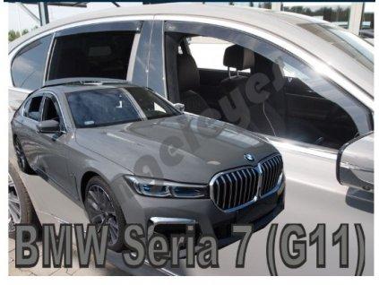 Deflektory na okná pre BMW 7 G11