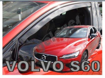 Deflektory na okná pre Volvo S60 III