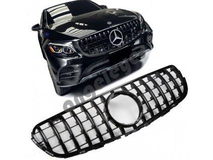 Športová maska Mercedes X253 GLC AMG čierna lesklá
