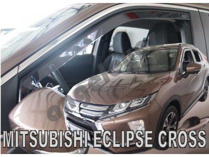 Deflektory na okná pre Mitsubishi Eclipse Cross 2018-