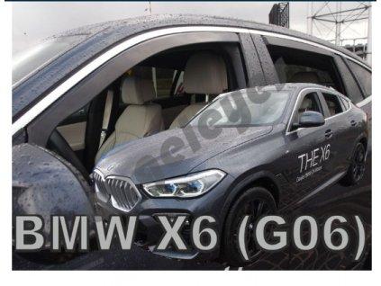Deflektory na okná BMW X6 G06