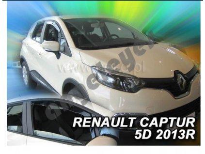 Deflektory na okná pre Renault Captur, 2ks