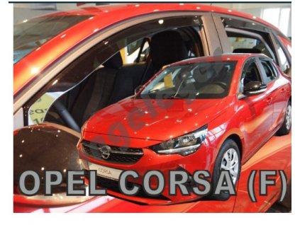 Deflektory na okná pre Opel Corsa F