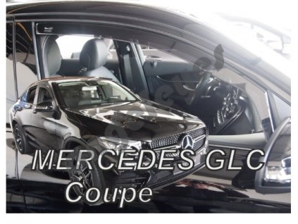 Deflektory na okná pre Mercedes GLC Coupe C253