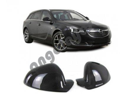 Carbónové kryty zrkadiel Opel Insignia A