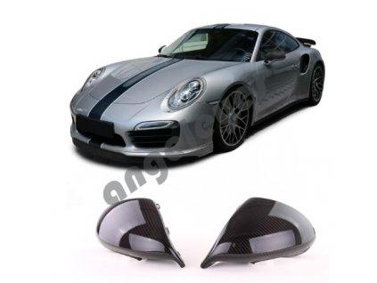 Carbónové kryty zrkadiel Porsche 911/991 facelift