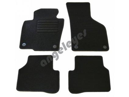 Čierne koberce VW Passat 3C /B6, B7, CC