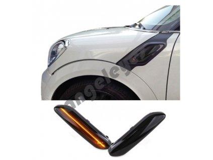 Dynamické bočné LED smerovky Mini R60 Countryman, R61 Paceman...