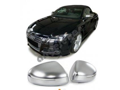 Kryty zrkadiel srieborné matné Audi TT 8J rv. 2006-2014