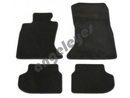 Čierne koberce premium pre BMW 5 F10 XDrive prémium