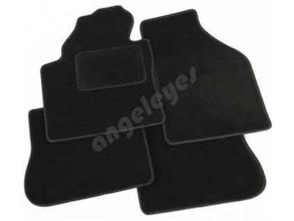 Čierne koberce PREMIUM Mercedes C W205