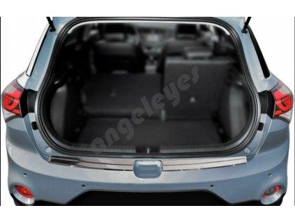 Nerezová ochranná lišta na nárazník Hyundai i20 II/ACTIVE lesklá