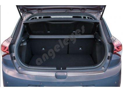 Nerezová ochranná lišta na nárazník Hyundai i20 II/ACTIVE matná
