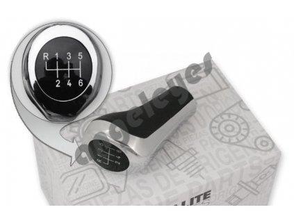 6-rýchlostná páka-chrom pre BMW 5 E60 E81 E87 X5 E53