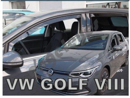 Deflektory na okná pre VW GOLF VIII