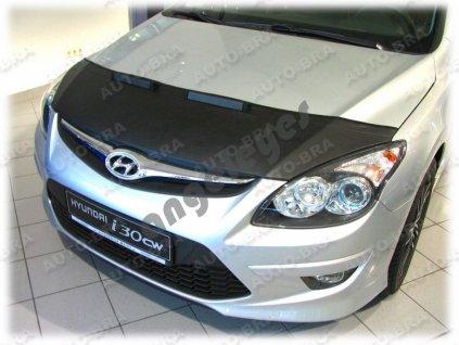 Hyundai i30 kožený kryt kapoty