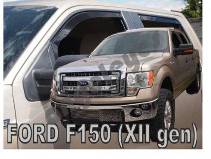 Deflektory na okná pre Ford F-150 (XII GEN) XLT 4D