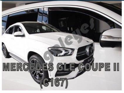 Deflektory na okná pre Mercedes GLE Coupe C167 5D