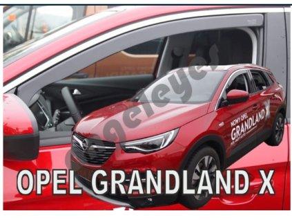 Deflektory na okná pre Opel Grandland X 5D