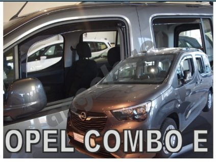 Deflektory na okná pre OPEL COMBO E 4D/5D LOV
