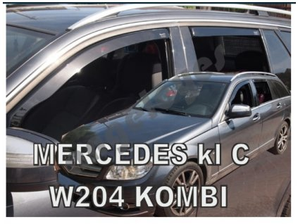 Deflektory na okná pre Mercedes C W204 kombi