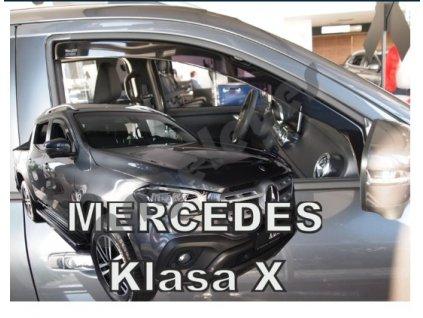 Deflektory na okná pre Mercedes X-CLASS 4D
