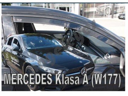 Deflektory na okná pre Mercedes A W177 5D
