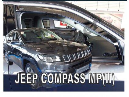Deflektory na okná pre Jeep COMPASS MP II 5D
