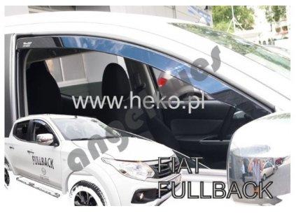 Deflektory na okná pre Fiat Tipo FULLBACK 4D