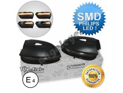 Dynamické LED smerovky pre VW